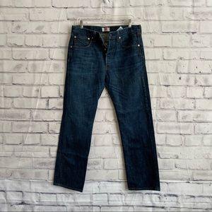 Levi's Original 501 button fly, straight leg jeans